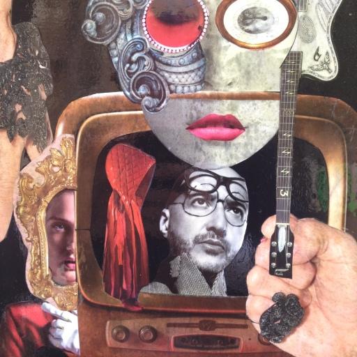 VITTORIA RUTIGLIANO SD 41X59 UOMO DENTRO LA TV (3)